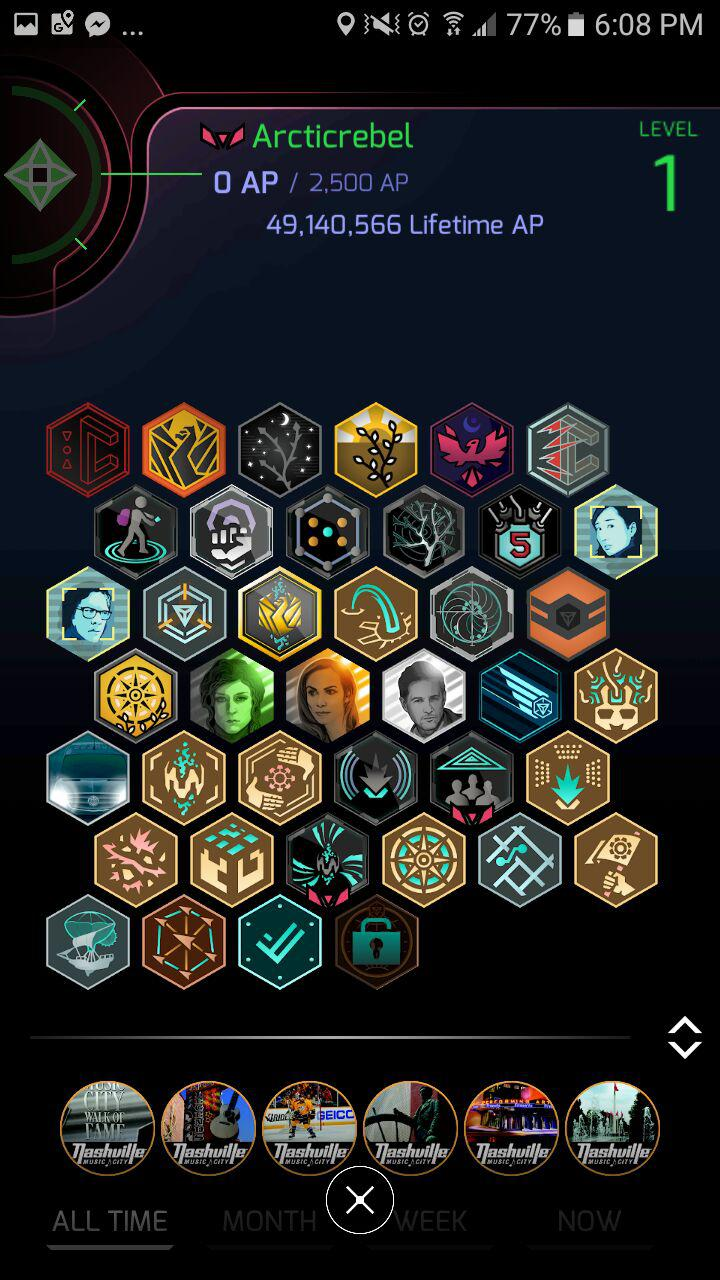Ingress Prime, Released - Restart at Level 1 & New Items in