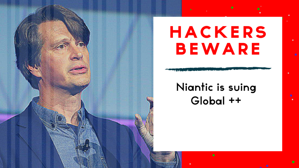 Niantic is suing Global++ on the eve of Harry Potter
