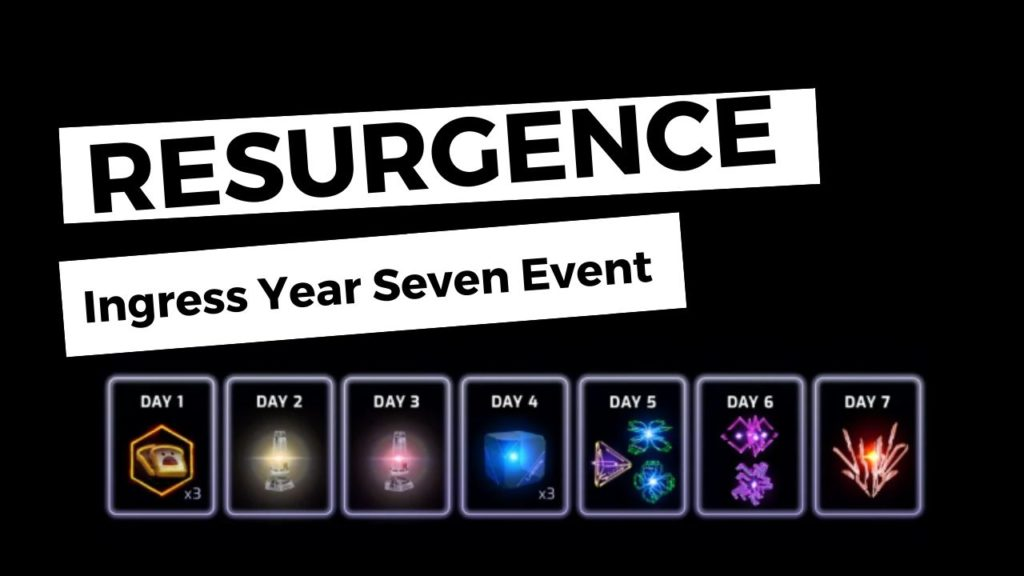 Resurgence - Ingress Year Seven Event