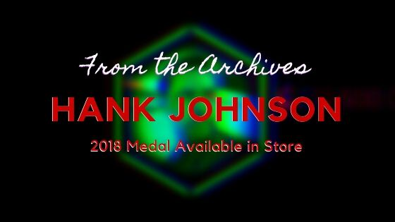 Hank Johnson in-app Medal