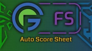 Fev Games Auto Score Sheet