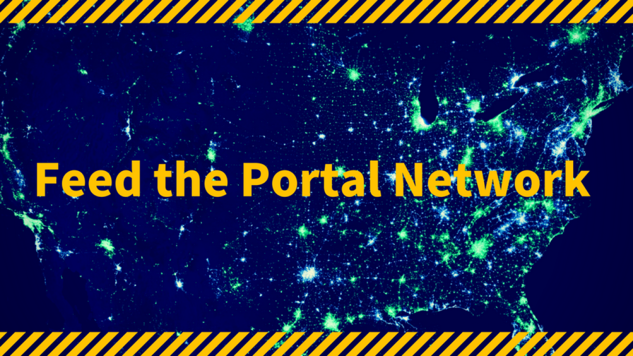 Feed the Portal Network